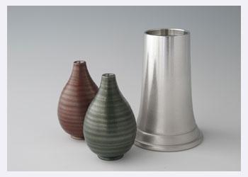 錫光、花器製品、